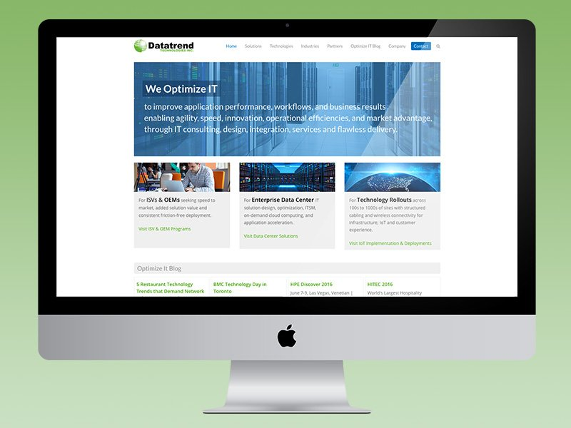 Datatrend Website